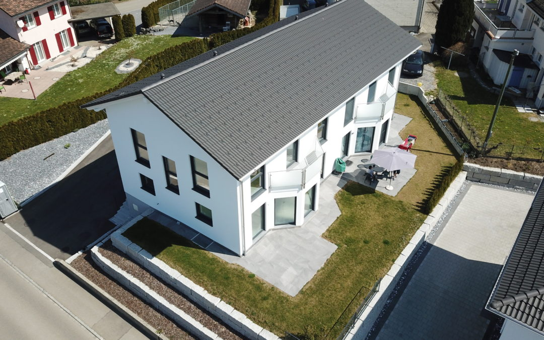 Verkauft – 5.5 Zimmer Doppel – EFH,          Andwil TG